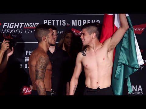 Sergio Pettis vs. Brandon Moreno | Weigh-In | UFC Fight Night