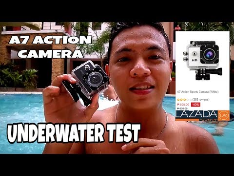 A7 Action Sports Camera Underwater Test Lazada