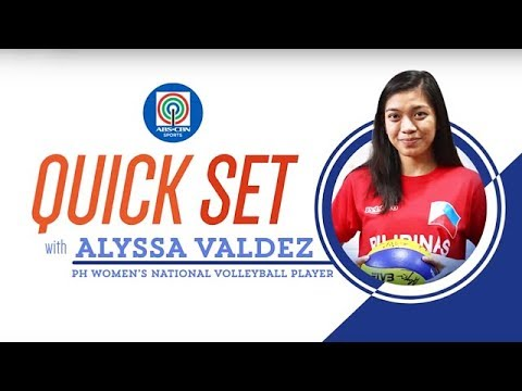 Quickset with Alyssa Valdez   ABS-CBN Sports Exclusives