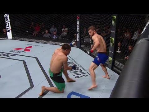 Dustin Ortiz KO's Hector Sandoval for fastest finish in UFC Flyweight history | UFC Fight Night