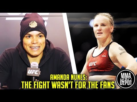 Nunes: I dominated this fight shouldve been unanimous; Valentina wants rematch;Woodley v RDA;UFC 215