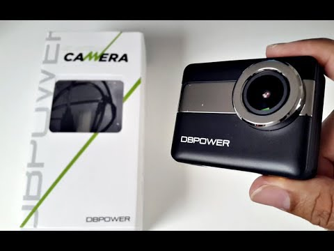 4K Action Sports Camera – 20MP – TOUCH SCREEN -Waterproof (30M) – by DBPOWER