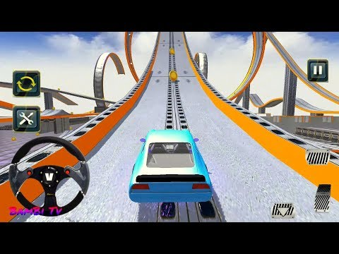 🚗 Extreme Sports Car Stunts 3D – Impossible Stunt Car Tracks 3D #q | Bambi Tv – Android Gameplay HD