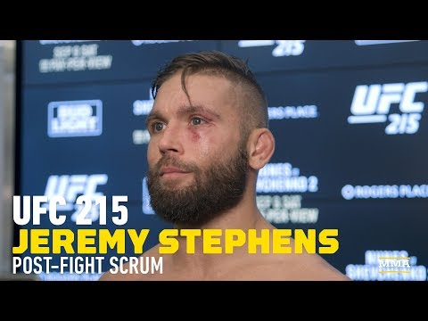 "UFC 215: Jeremy Stephens ""Would Love"" to Fight Jose Aldo Next – MMA Fighting"