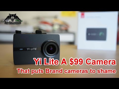 $99 Amazing Yi Lite 4K Action Sports Camera