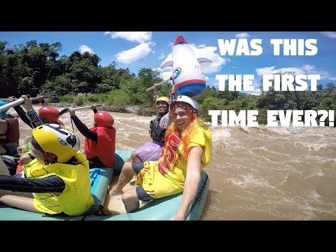Extreme Sports Dressed Up In The Philippines… (White Water Rafting, Cagayan de Oro)