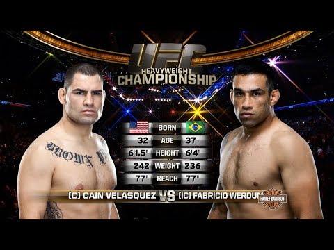 UFC 216 Free Fight: Fabricio Werdum vs Cain Velasquez