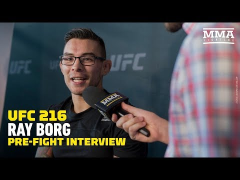 Ray Borg Guarantees a Win Over Demetrious Johnson at UFC 216 – MMA Fighting
