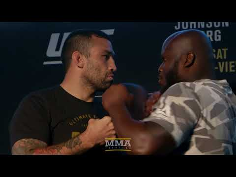 UFC 216: Fabricio Werdum vs. Derrick Lewis Media Day Staredown – MMA Fighting