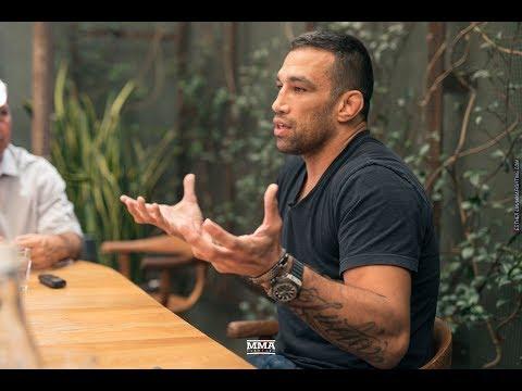 Fabricio Werdum UFC 216 Media Lunch Scrum – MMA Fighting