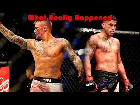 What Really Happened at UFC Fight Night Norfolk (Dustin Poirier vs Anthony Pettis)