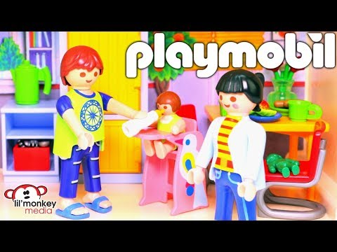 Playmobil Dollhouse, Family Fun, Sports & Action Playsets!  Build and Play!