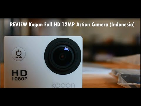 [ Indonesia ] KOGAN Sports Action Camera 1080p 12MP Full HD REVIEW