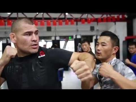 Fight Night Shanghai: Cain Velasquez Tours Beijing