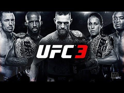 EA Spots UFC 3 Fighter Roster so far!