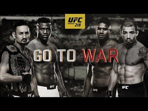 UFC 218: Holloway vs Aldo 2 – Go To War
