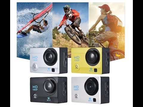 2″ LCD 12MP 1080P WiFi Action Sports Camera