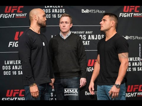 UFC on FOX 26: Robbie Lawler vs. Rafael dos Anjos Staredown – MMA Fighting