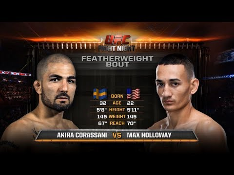 UFC 218 Free Fight: Max Holloway vs Akira Corassani
