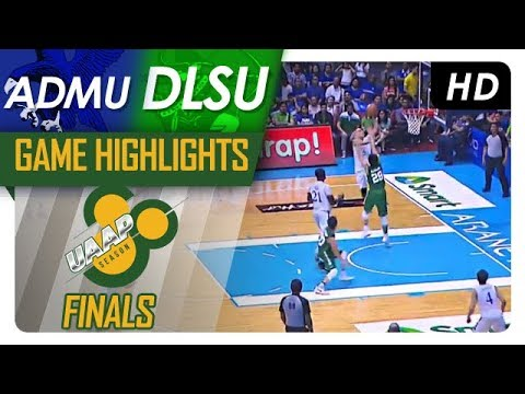 ADMU vs. DLSU | Finals Game 3 Highlights | UAAP 80 Men's Basketball | December 03, 2017