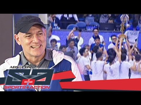 The Score: ADMU Blue Eagles coach Tab Baldwin talks about the Blue Eagles' victory