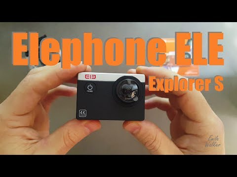 Elephone ELE Explorer S 4K Extreme Sports Action Camera Review || Video, Audio, Build Quality etc