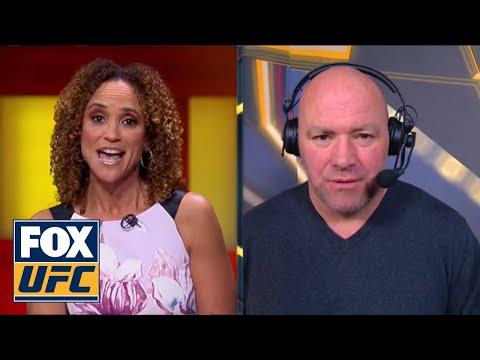 Dana White talks with Karyn Bryant after UFC St. Louis | INTERVIEW | UFC FIGHT NIGHT