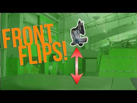 9 YEAR OLD FRONT FLIPS! (EXTREME SPORTS)