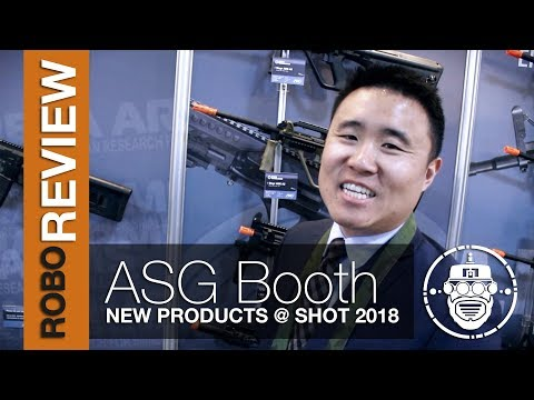 Robo-Airsoft: Robo Gear Review – SHOT Show 2018 – Action Sport Games Booth