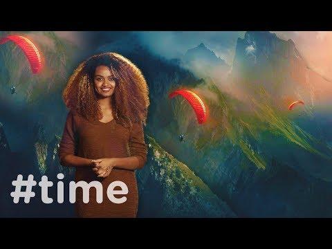 #time : Extreme Sports : Danayit Mekbib on KanaTV : Ethiopia