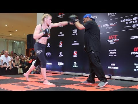 Valentina Shevchenko UFC Belem Open Workout Highlights – MMA Fighting