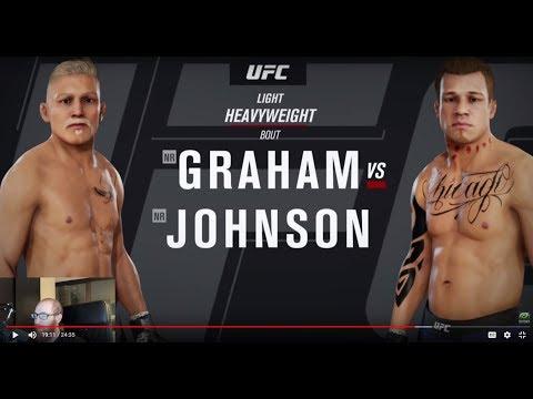 FIGHTING AN OLD MAN?? (UFC 3 Career Gameplay)