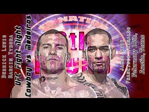 UFC Austin: Cowboy vs. Medeiros 6th Round post-fight show