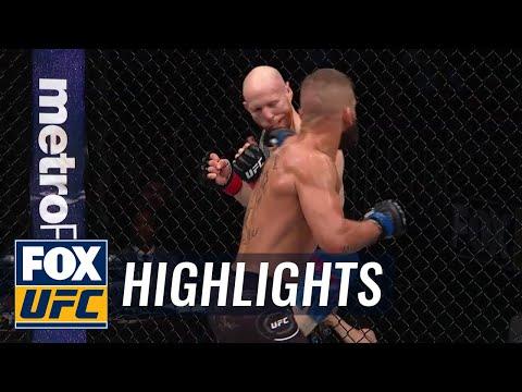 Jeremy Stephens KO's Josh Emmett   HIGHLIGHTS   UFC on FOX