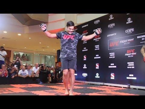 Lyoto Machida Dances Carimbó at UFC Belem Workouts – MMA Fighting