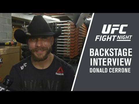 Fight Night Austin: Donald Cerrone – 'I knew Yancy Was Going to Meet Me In The Middle'