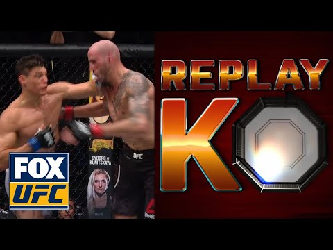 Alan Jouban KO'd Ben Saunders, Cormier breaks it down   ReplayKO   UFC on FOX