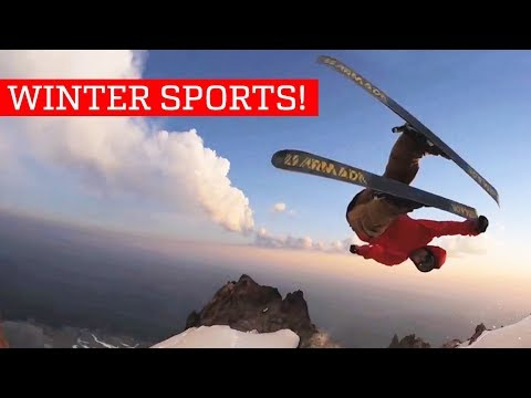Winter Sports – People Are Awesome 2018