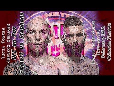 UFC on FOX 28: Stephens vs. Emmett 6th Round post-fight show