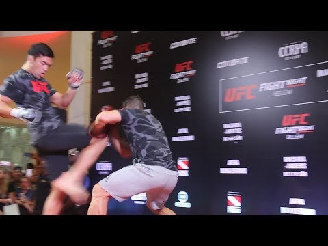 Lyoto Machida UFC Belem Open Workout Highlights  – MMA Fighting
