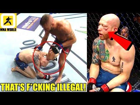 MMA Community Reacts the Illegal Strikes in Jeremy Stephens vs Josh Emmett,UFC on FOX 28 Results