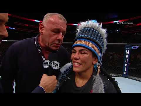 Fight Night Orlando: Jessica Andrade Octagon Interview