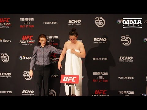 UFC Liverpool: Molly McCann Fails To Make Weight – MMA Fighting