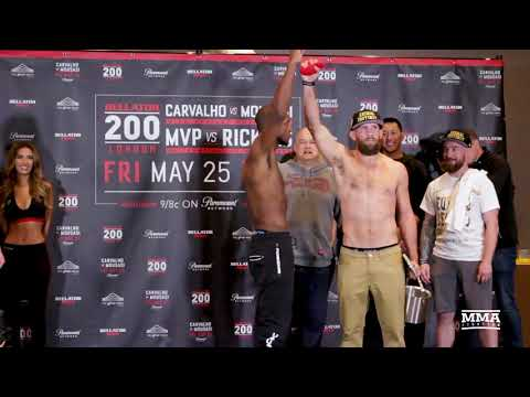 Bellator 200 Weigh-Ins: David Rickels Shows Off MVP's 'Heart' – MMA Fighting