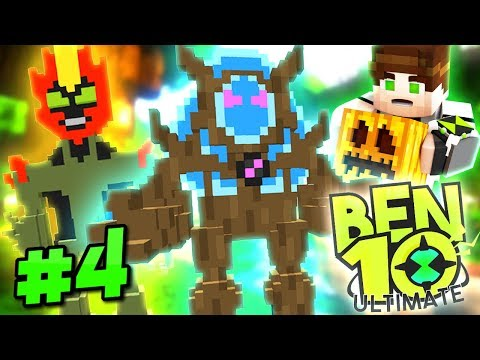 Minecraft Ben 10 Ultimate – FIGHTING FIRE WITH SWAMPFIRE! (Minecraft Roleplay S2 Episode 4)
