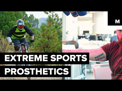 Veteran Firefighter and Amputee Makes Prosthetics for Extreme Sports