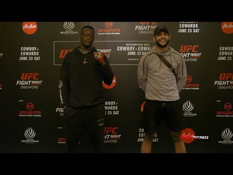 Fight Night Singapore: Ovince Saint Preux vs Tyson Pedro – Always Going for the First Round Finish