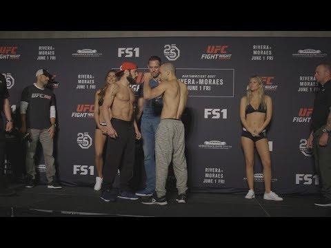 Fight Night Utica: Weigh-in Faceoffs