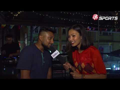 WorldCup 2018 Fan Club  || VJ Jaina Kunwar || Action Sports
