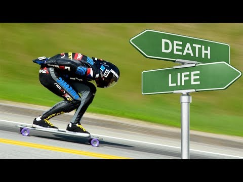 Skaters vs Extreme Downhill Longboarding! (Wins & Fails)